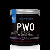 Nutriversum PWO Strong - 210g - DARK
