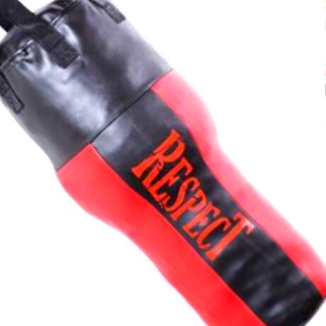 Saman Boxzsák (100cm-től, műbőr, lánccal, Classic, tömött,fekete)