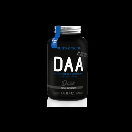 DAA - 120 kapszula - DARK - Nutriversum