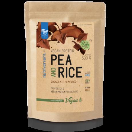 Nutriversum Pea & Rice Vegan Protein - 500g - VEGAN