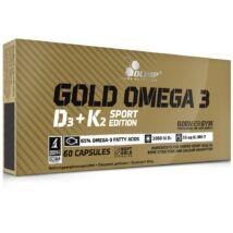 Olimp Gold Omega 3 D3+K2 - 60 kapszula