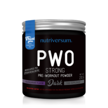 Nutriversum PWO Strong - 210g - DARK