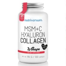 Nutriversum MSM+C Hyaluron Collagen - 120 kapszula