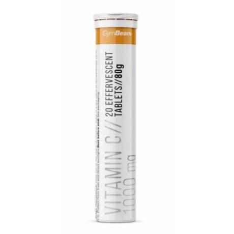 GymBeam C-vitamin 1000 mg pezsgőtabletta - 20 db