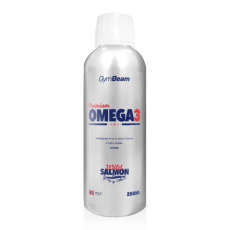 GymBeam Premium Omega 3 - 250 ml - Citrus