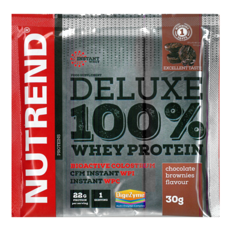 Nutrend Deluxe 100% Whey Protein - 30 g