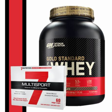 Gold Standard Whey Protein + Multisport vitamin