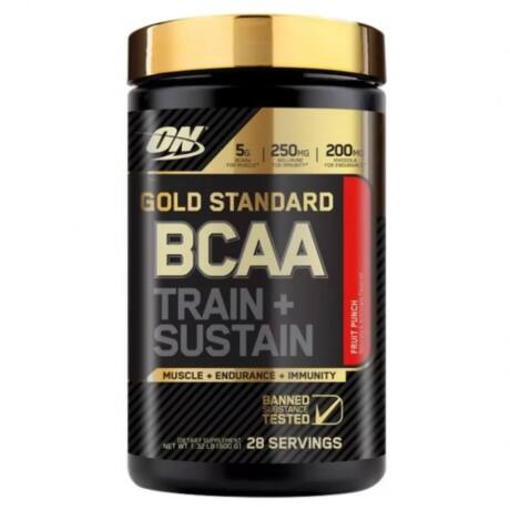 ON Gold Standard BCAA Train + Sustain - 266g