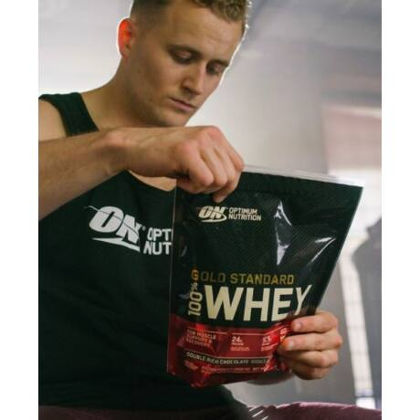 Optimum Nutrition Gold Standard 100% Whey Protein - 450 g - Csokoládé