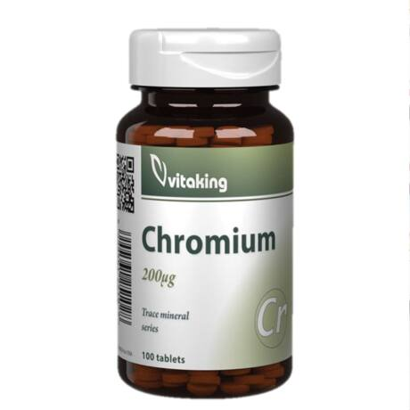Króm Pikolinát - 100 tabletta - Vitaking