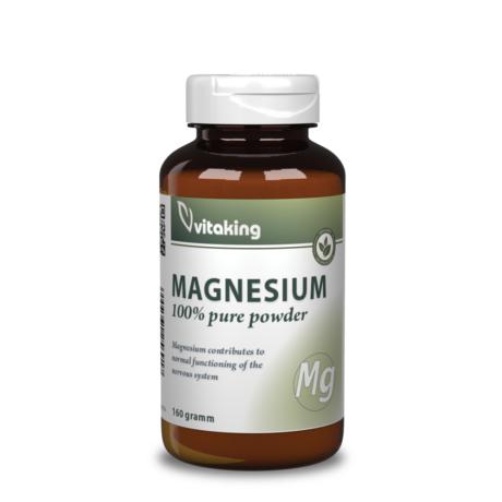 Vitaking Magnézium Citrát Por - 160 g