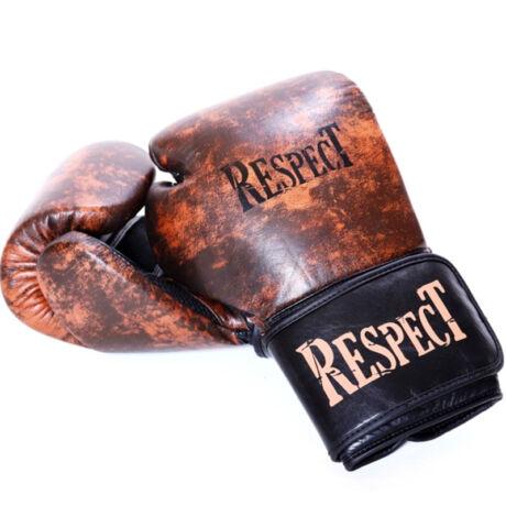 Boxkesztyű - Old School - bőr - Respect