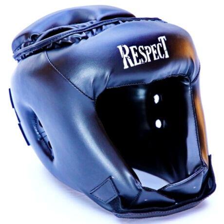 Fejvédő - nyitott - fekete - Respect