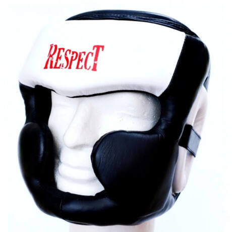 Respect fejvédő - Pro Line - bőr