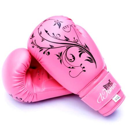 Boxkesztyű   műbőr   pink  Respect