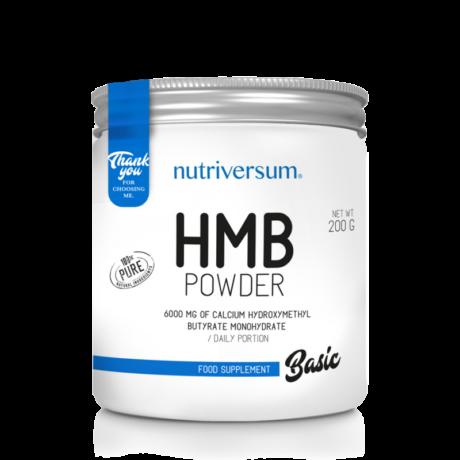 Nutriversum HMB Powder - 200 g - BASIC