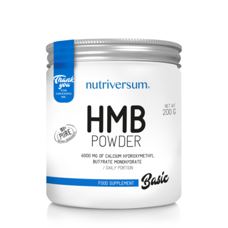 Nutriversum HMB Powder - 200 g - BASIC