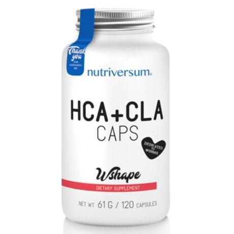 HCA+CLA - 120 kapszula - Nutriversum