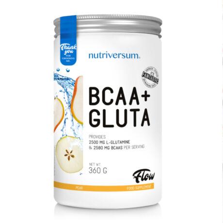 Nutriversum BCAA+GLUTA - 360 g - körte