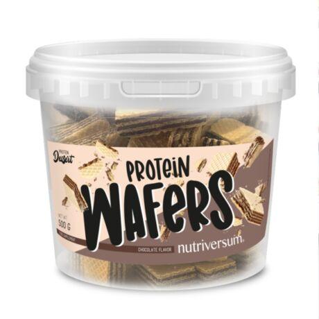 Nutriversum Protein Wafers - Csokoládé - DESSERT - 500 g