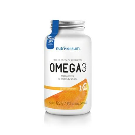 Nutriversum Omega 3 - 90 kapszula - VITA