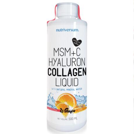 MSM+C Hyaluron Collagen Liquid - 500 ml - narancs