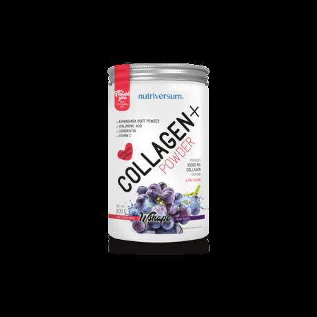 Nutriversum Collagen+ - 600 g - WSHAPE - KÉKSZŐLŐ